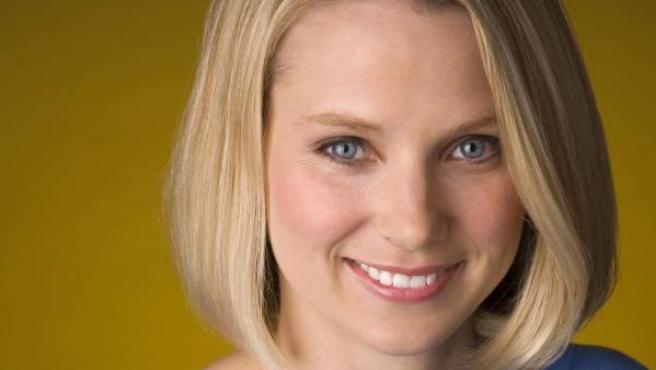 Fotografía sin fecha cedida por Google el lunes 16 de julio de 2012, de la ejecutiva de Google Marissa Ann Maye en Mountain View, California (EE UU). Informaciones periodísticas indican que Marissa Mayer, será la próxima directora ejecutiva de Yahoo.