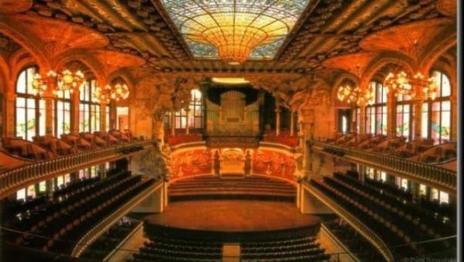 El Palau de la Música Catalana.
