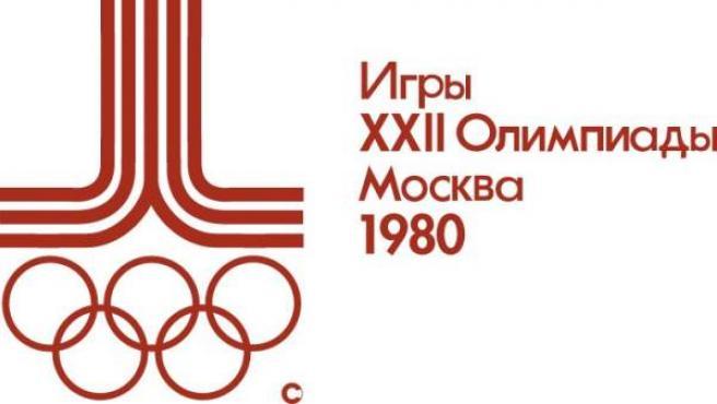 Logo de Moscú 1980.