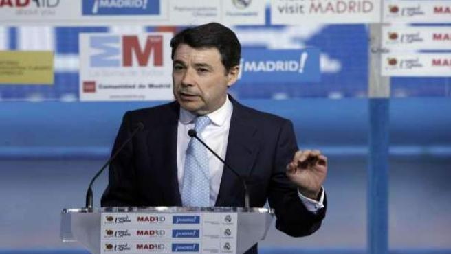 Ignacio González, número dos de la presidenta madrileña Esperanza Aguirre.