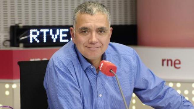 El periodista Juan Ramón Lucas.