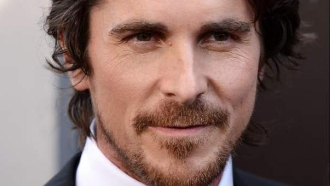 Christian Bale, durante el estreno estadounidense de 'El caballero oscuro: La leyenda renace'.