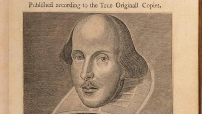 El primer volumen que reunió, en 1623, las obras del William Shakespeare