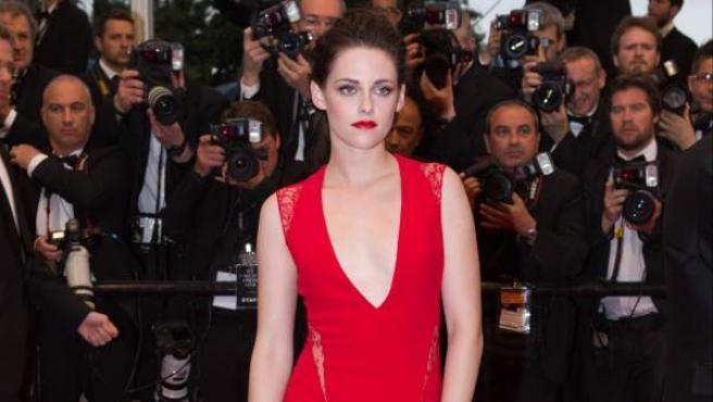 Kristen Stewart en el Festival de Cannes 2012.