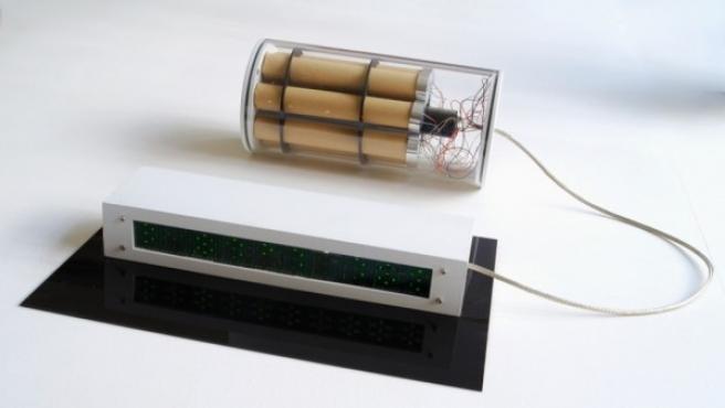 La bomba diseñada por Diego Trujillo