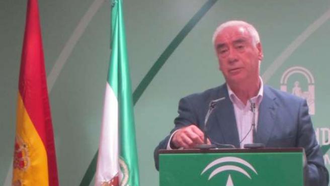 Luciano Alonso, en rueda de prensa