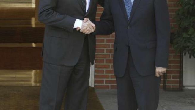 Rajoy y Griñán se reúnen en la Moncloa