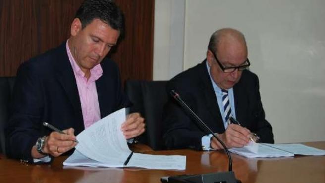 Alfonso Fernando Cerón y Jesús Samper