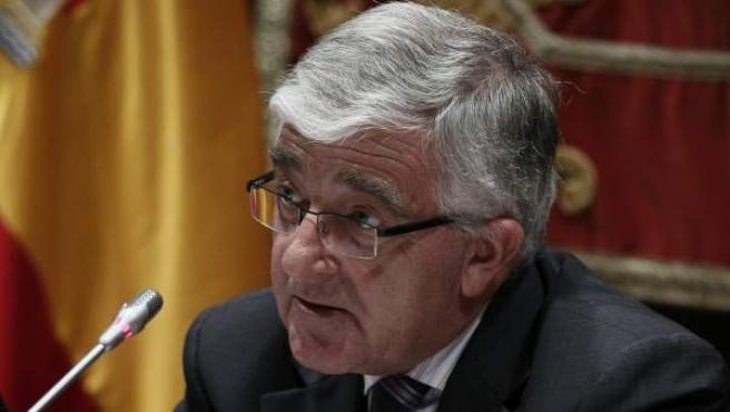 El presidente del Consejo General del Poder Judicial, Gonzalo Moliner.