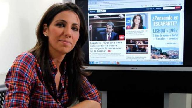 Ana Pastor en el encuentro digital con los lectores de 20minutos.es.