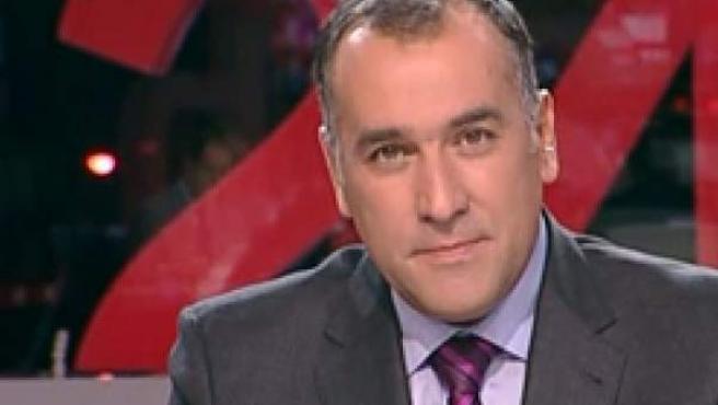 Imagen corporativa de TVE del periodista Xabier Fortes.