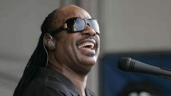 El músico estadounidense Stevie Wonder, en una fotografía de archivo.