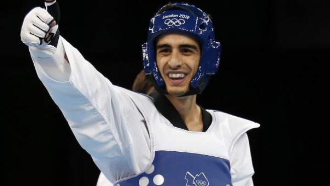 Joel González en los Juegos de Londres.