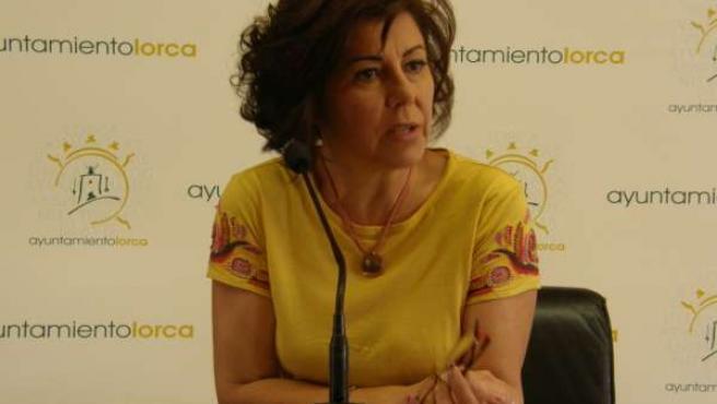 La Concejal de Consumo del Ayuntamiento de Lorca, Antonia López
