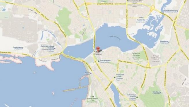 Kazan, capital de la República de Tartaristán.