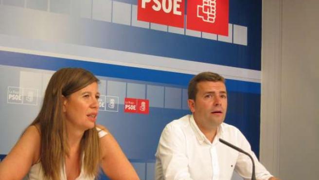 Olagaray y Fernández, secretarios Salud e Inmigración PSOE riojano