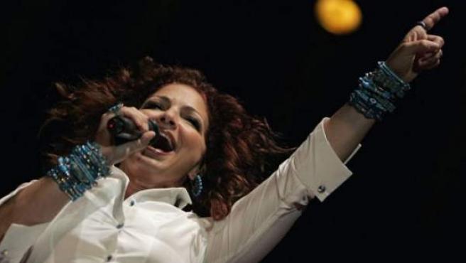 Gloria Estefan, en un concierto.