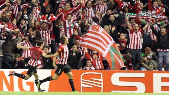 El delantero del Athletic de Bilbao Fernando Llorente.