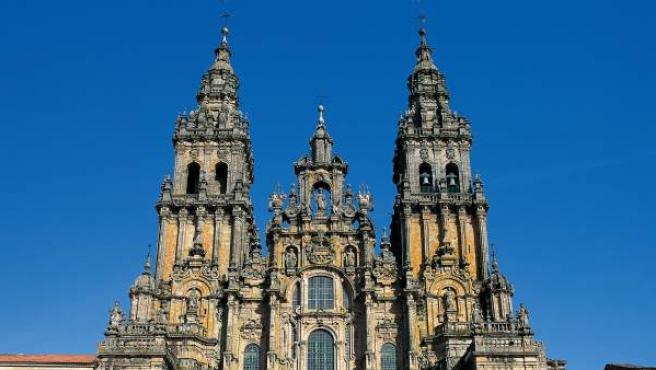 La Catedral de Santiago de Compostela.