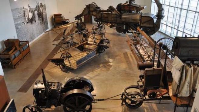 Una De Las Salas Del Museo Aquagraria En Ejea