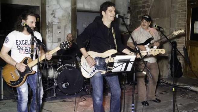 El grupo Woodstock blues band.