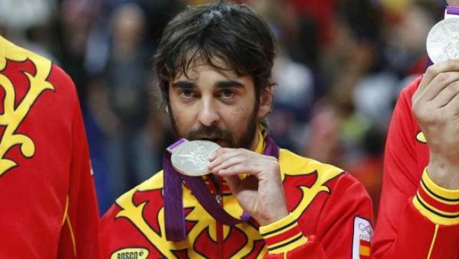 Juan Carlos Navarro, plata en los Juegos Olímpicos de Londres 2012.