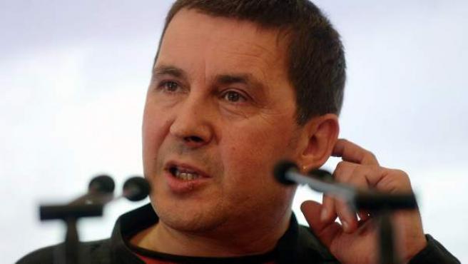 El histórico portavoz abertzale, Arnaldo Otegi.
