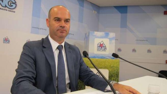 Félix Juncal, alcalde de Bueu y responsable de Iniciativas Municipales