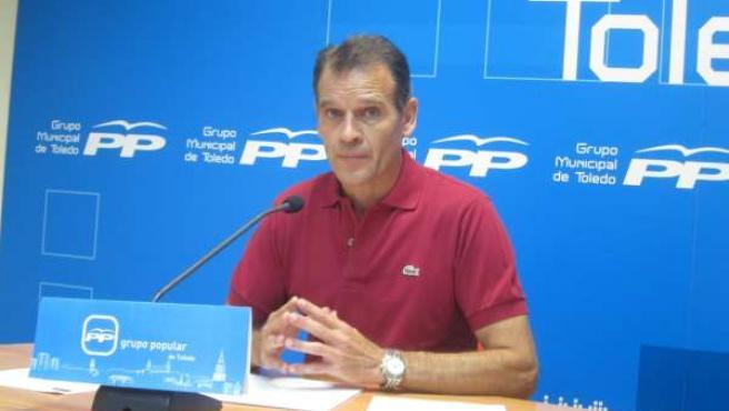 Viceportavoz del Partido Popular Municipal José López Gamarra