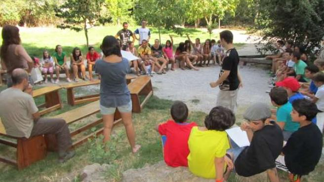 Campamento de verano niños diabéticos