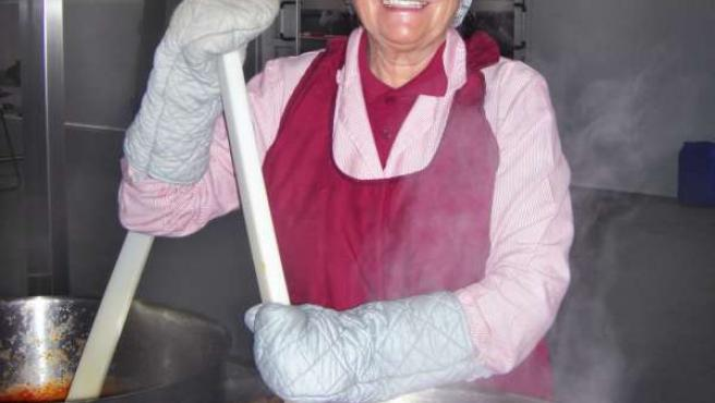 Isabel Muñoz, Presidenta De Honor De La Empresa 'Estilo Kikí'.