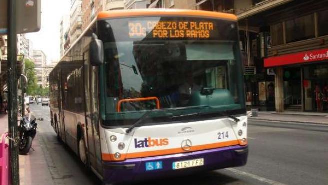 Autobús urbano de Murcia