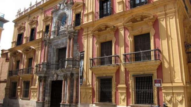 Fachada del Palacio Episcopal de Málaga