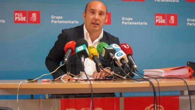 El diputado del PSdeG José Manuel Lage