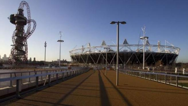 Estadio Olímpico de Londres.