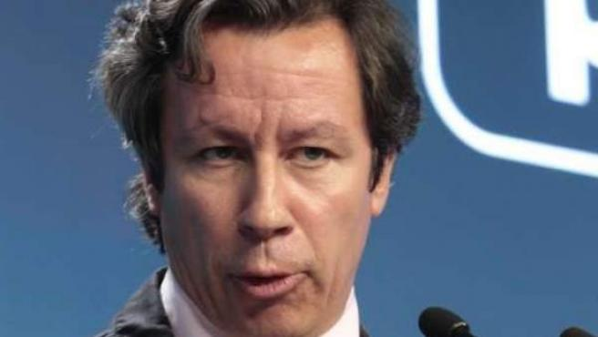 El vicesecretario general de Organización y Electoral del PP, Carlos Floriano.