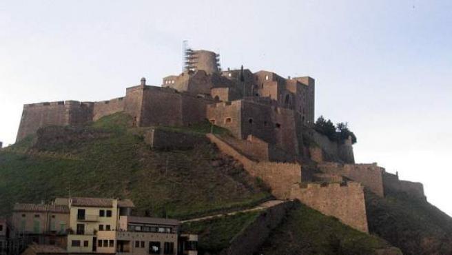 El Castillo de Cardona, del siglo XV, hoy Parador Nacional.