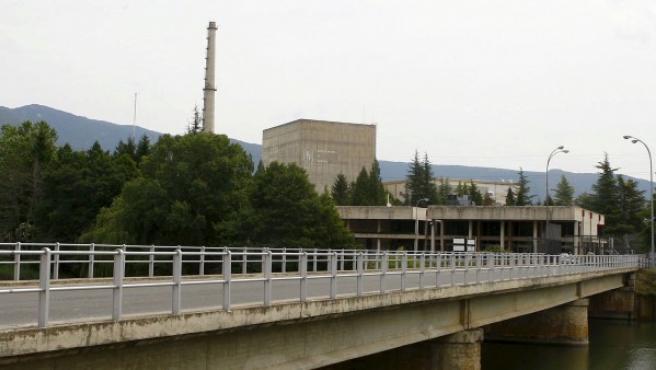 Exterior de la central nuclear de Santa María de Garoña, en una imagen de 2009.