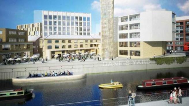 El de Strand East será un barrio para 6.000 personas.