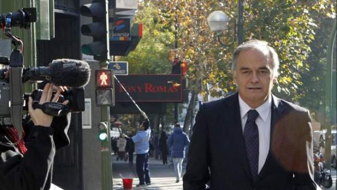 El vicesecretario de Comunicación del Partido Popular (PP), Esteban González Pons.