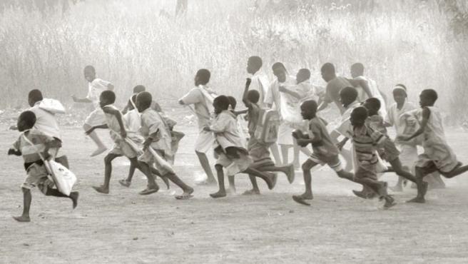 Una escuela de Benín fotografiada por Watson