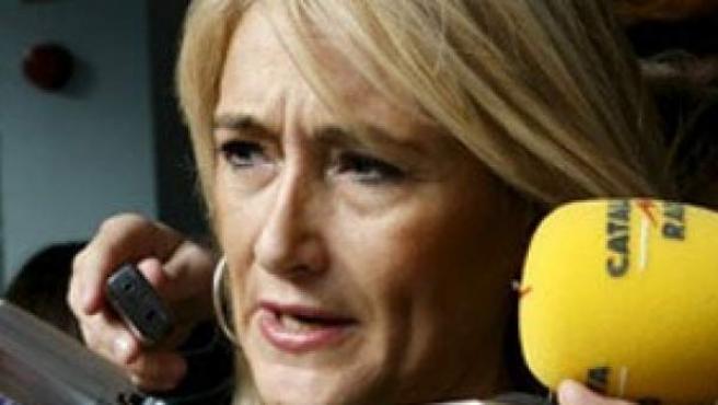 Cristina Cifuentes, delegada del Gobierno de Madrid.