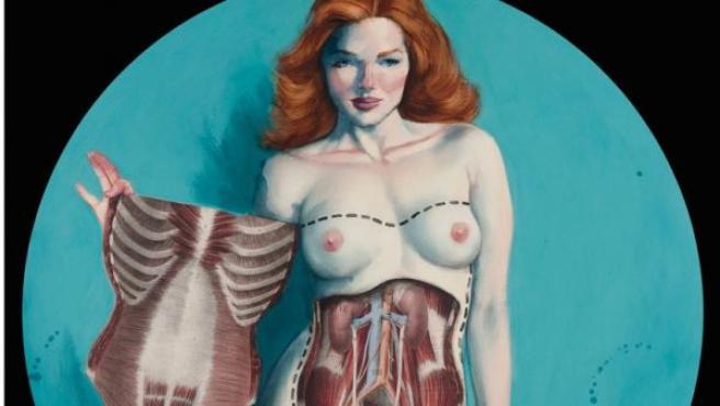 Ilustración del español Fernando Vicente de la serie 'Venus'