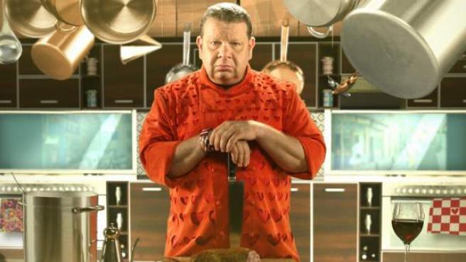 El chef Alberto Chicote, en una imagen promocional de 'Pesadilla en la cocina'.