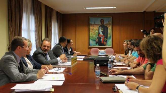 Reunión de coordinación de la campaña
