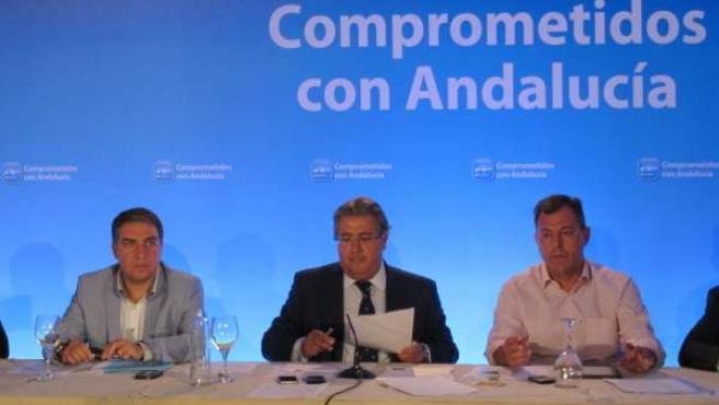 Juan Ignacio Zoido, del PP-A, en Granada