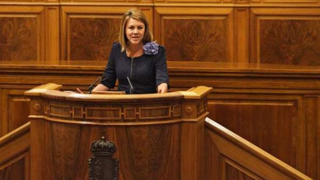 Cospedal en el Debate del Estado de la Región