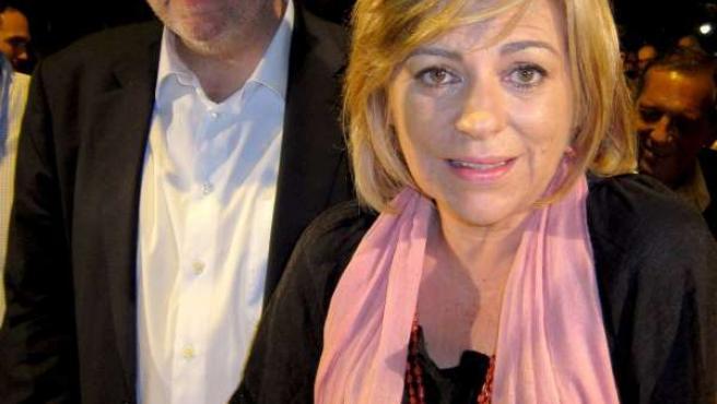Ximo Puig y Elena Valenciano