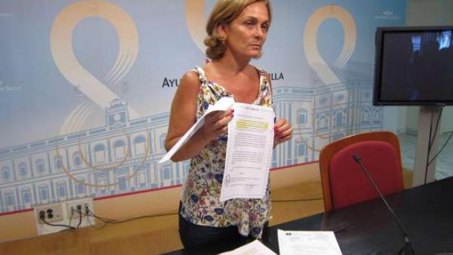 La edil de Asuntos Sociales de Sevilla, Dolores de Pablo-Blanco