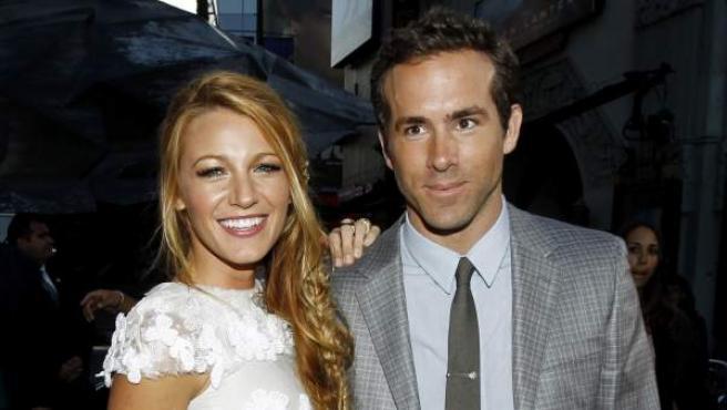 Ryan Reynolds y Blake Lively.